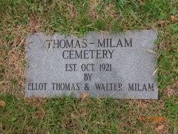 Thomas-Milam Cemetery