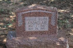 Louise <i>Heath</i> Abdallah