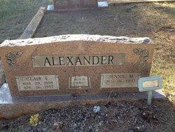 Clair E Alexander