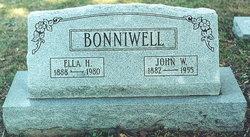 Ella S <i>Hoffman</i> Bonniwell