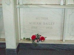 Miriam <i>Warden</i> Bailey