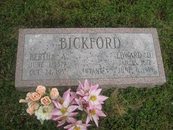 Bertha A Bickford