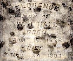 Florence <i>Jones</i> Hall