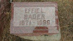 Effie L <i>McAninch</i> Bader