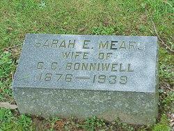 Sarah Ester Essie <i>Mears</i> Bonniwell