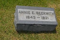 Ann Emma <i>Williams</i> Beckwith