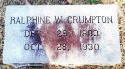 Ralphine <i>Walker</i> Crumpton