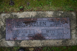 Betty L. <i>Larsen</i> Allen