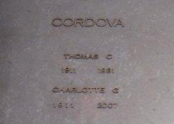 Carlotta G <i>Garcia</i> Cordova
