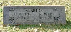Sgt Burnice Eudell McBride