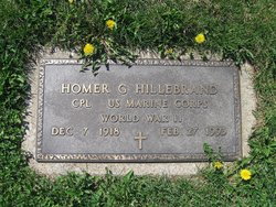Homer Glenn Hillebrand