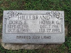 Doris Elizabeth <i>Emery</i> Hillebrand