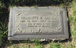 Charlotte Mae <i>Chandler</i> Arnold