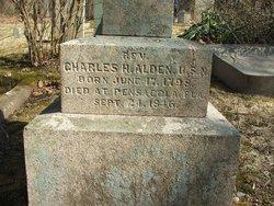 REV Charles H Alden