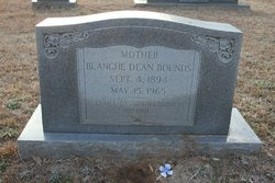 Blanche <i>Dean</i> Bounds