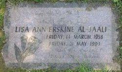 Lisa Ann <i>Erskine</i> Al-jaaly