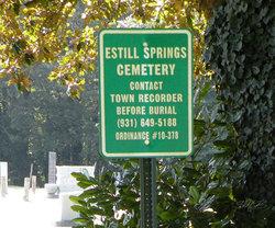 Estill Springs Cemetery