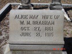 Alice May <i>Dickinson</i> Brabham