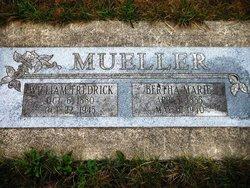 Bertha Marie <i>Benthien</i> Mueller