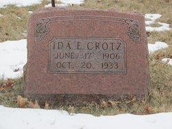 Ida Elizabeth <i>Dunbar</i> Crotz
