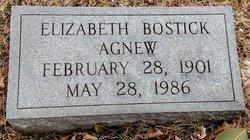 Elizabeth <i>Bostick</i> Agnew