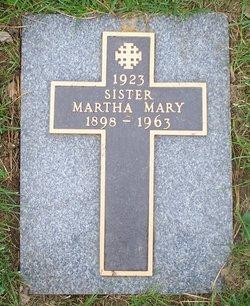Sr Martha Mary Armstrong
