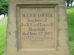 Mary Louisa Mansfield