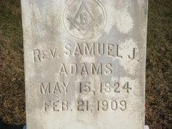 Rev Samuel Jonse Adams