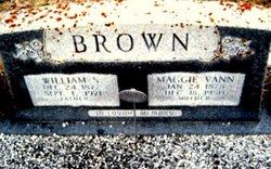 Maggie Mae <i>Vann</i> Brown