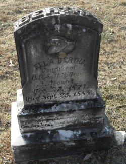 Ella Bertha Brown