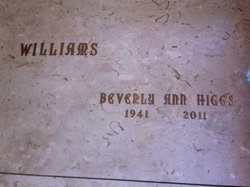 Beverly Ann <i>Higgs</i> Williams