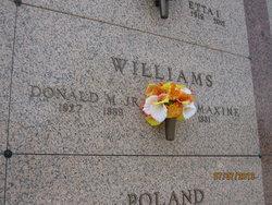 Donad M Tweezer Williams