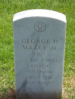 George H Maxey, Jr