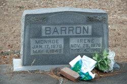 Irene <i>Haight</i> Barron