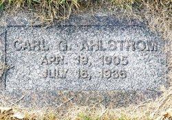 Carl G Ahlstrom