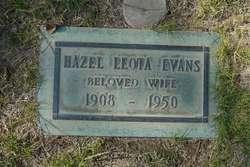 Hazel Leota <i>Grabill</i> Evans