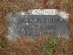Frances M <i>Conger</i> Thomas