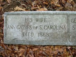 Ann Lawrence <i>Gaines</i> Gaines