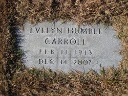 Evelyn Ella <i>Humble</i> Carroll