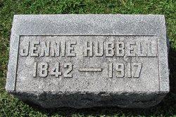 Mary Jane Jennie <i>Moore</i> Hubbell