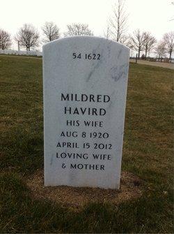 Mildred Sara <i>Havird</i> Vincent