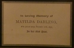 Matilda <i>Dottridge</i> Darling