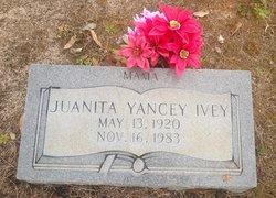 Juanita <i>Yancey</i> Ivey