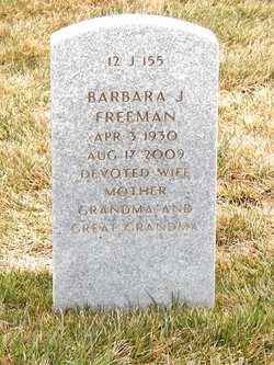 Barbara Jean <i>Morgan</i> Freeman