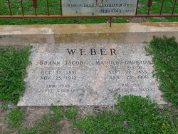 Johann Jacob John Weber