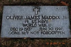Oliver James Buddy Maddix, Jr