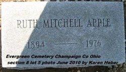 Ruth <i>Mitchell</i> Apple