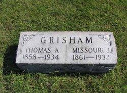 Missouri Jane <i>Dunahoo</i> Grisham