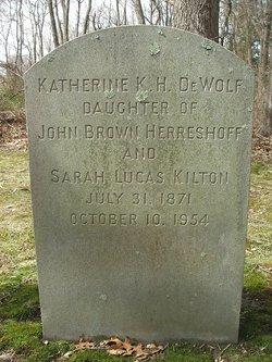 Katherine K <i>Herreshoff</i> DeWolf