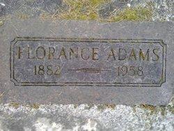 Florence Opal <i>McCrohan</i> Adams